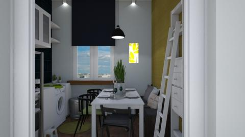 High Dining  - Kitchen  - by Eleonor Debus