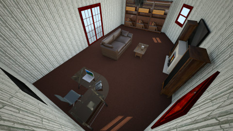 Guest house cabin - Country - Living room  - by Kaylie Marlowe