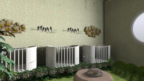 Birdy Nursery - Global - Kids room  - by Cheyenne Kersten