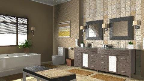 Relaxing Bathroom - Modern - Bathroom - by wwrightsc