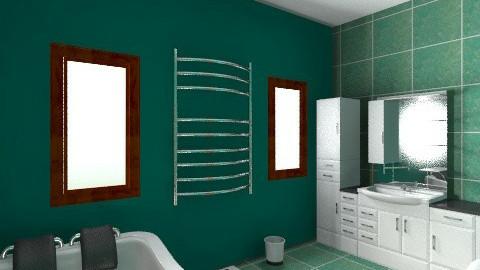 Comfy bathroom - Classic - Bathroom  - by zombiepanda