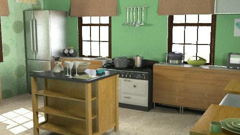 Barn conversion Kitchen - Classic - Kitchen  - by HazelMP