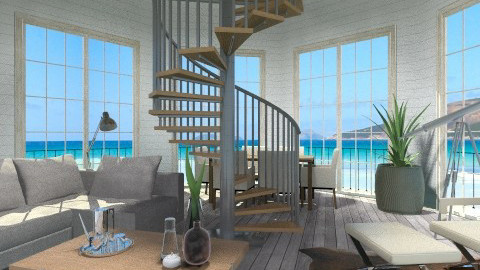 Lighthouse - Living room  - by fre82