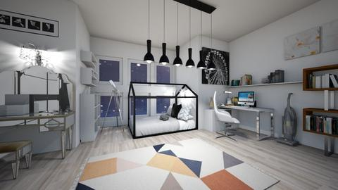 mordern room - Modern - Bedroom  - by nguyentranynhi