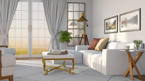 Early Morning - Living room  - by GraceKathryn
