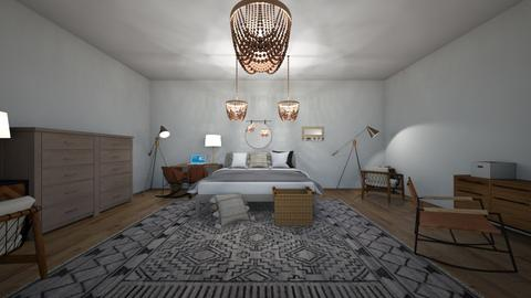 Boho Sheek - Rustic - Bedroom  - by IcyRosyRake