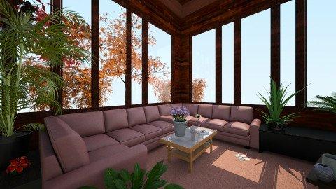 70s Living Room - Vintage - Living room  - by Sophia Cooper