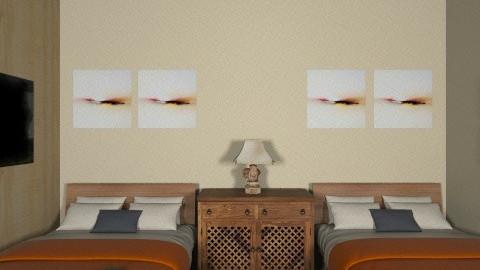 Safari Live - Rustic - Bedroom  - by melanyfrans