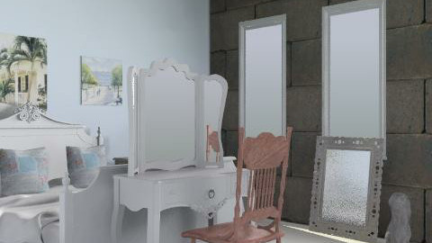 Shabby chic bedroom - Classic - Bedroom  - by CattyEl
