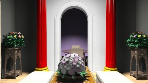 Roman style - Vintage - Living room  - by ninikunebi