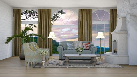 Vintage Living - Living room  - by Feeny