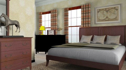 Sable - Classic - Bedroom  - by Azmi_Ar