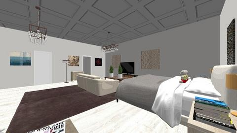 POL BEDROOM - Glamour - Bedroom  - by marcellarouchardd