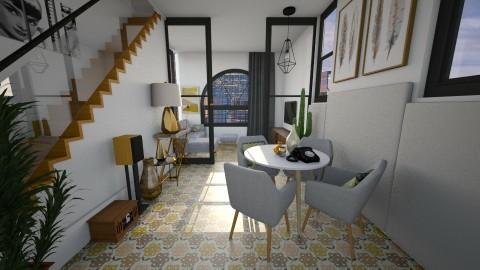 Buttons - Retro - Living room  - by Bianca Biffa Hart