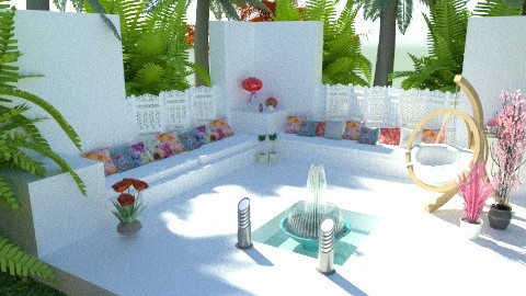 Garden Area - Retro - Garden - by cara_98