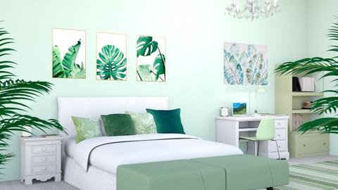 Green summer - Bedroom  - by Oyisha