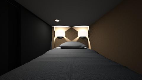 Capsule Hotel - Bedroom  - by SammyJPili