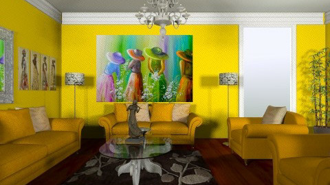 brian - Classic - Living room  - by Brian Goldman