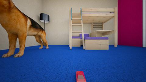 1er projecto - Minimal - Kids room  - by Jairo Hernandez