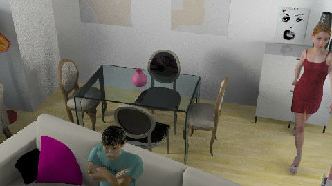 Salon 8 - Dining Room  - by Esnach