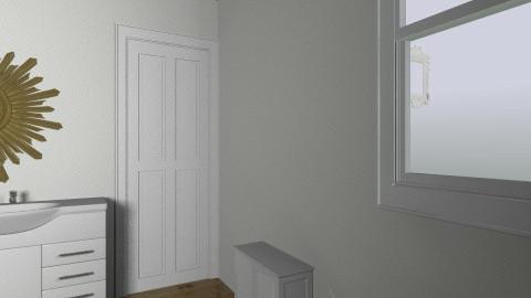 9 Friend bathroom - Vintage - by SarahAPierce