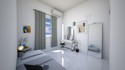 bedroom mokai - Minimal - Bedroom  - by exoticmokai