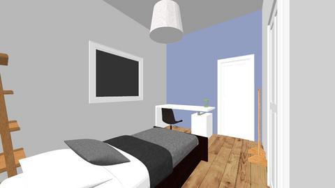 evi kamer - Bedroom  - by noortje2007