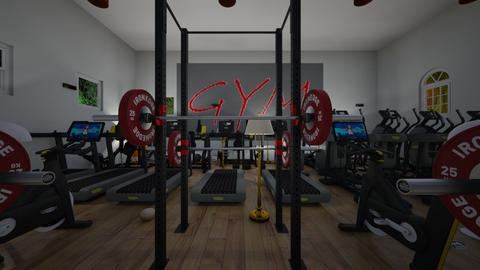 gym - Office  - by Malithu Damasth