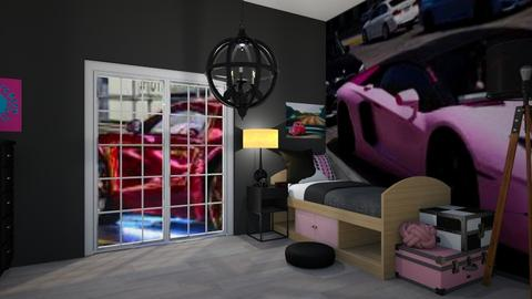 Lamborghini for lambogirl - Eclectic - Bedroom  - by Itsavannah