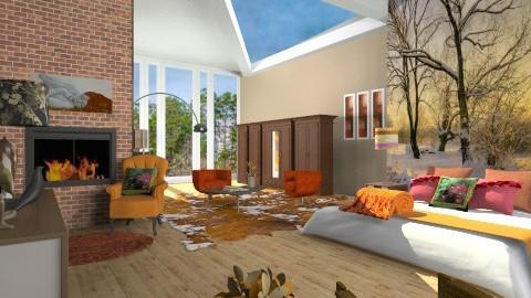 Cozy Autumn - Rustic - Bedroom  - by dancergirl1243