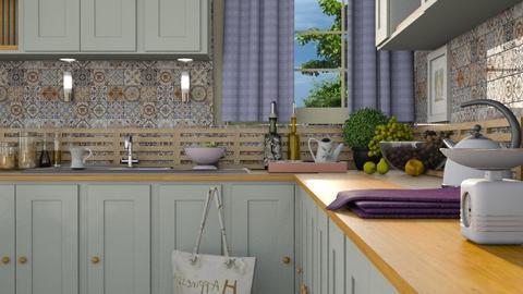 M_Vintage Kitchen2 - Kitchen  - by milyca8