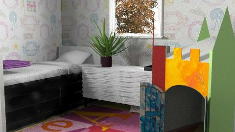 AUTUMN ROOM - Modern - Kids room  - by kyanna