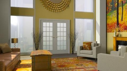 Rustic Livingroom - Rustic - Living room  - by Rechoppy92
