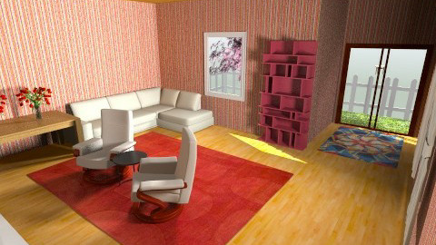 D coolette Livingroom - Retro - Living room  - by Aden Thompson