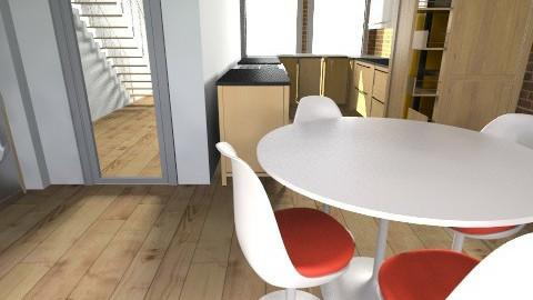 ground floor wakefield - Retro - Kitchen  - by nanaluckham