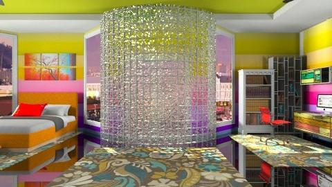 rainbow delux  - Modern - by Nhezart Designs