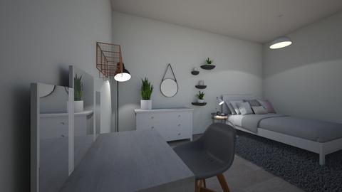 Modern Bedroom - Bedroom - by BRAMIE