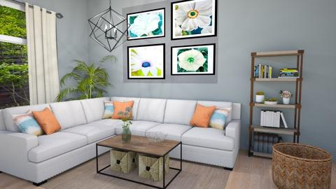 Gorgie Living - Living room - by lyrikkah