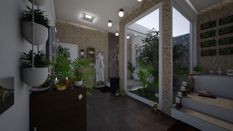 Urban Bathroom - Modern - Bathroom  - by kristenaK