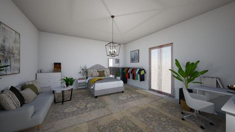 Evas Zimmer - Minimal - Bedroom  - by Mina Petuchov