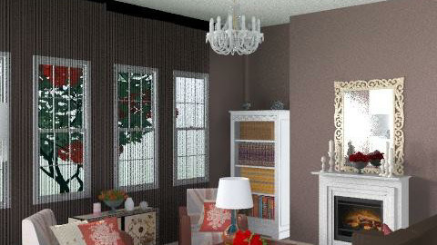 Chocolate and Rose room - Eclectic - Living room  - by hunny