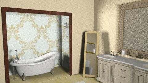 Feel like a king! - Vintage - Bathroom  - by dimitrafounda