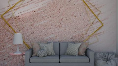 Rose Gold - Living room  - by DarcieM88
