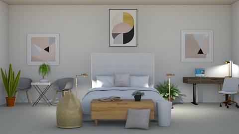 Cho - Bedroom  - by _Bright_Lights_