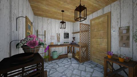 Garden shed - Classic - Garden  - by GoliaNova