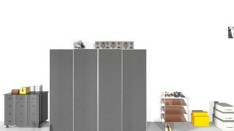 Kailyns room wardrobe  - Minimal - Bedroom - by altheaa_