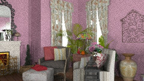 jeffrey - Country - Living room  - by Lynch Jeffrey