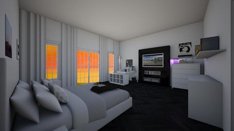 ModernMidRoomChillVibes - Masculine - Bedroom  - by jade1111