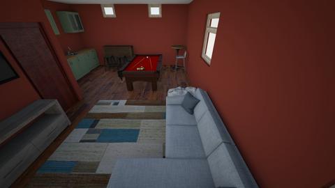 Basement living - Modern - Living room  - by jasone_120