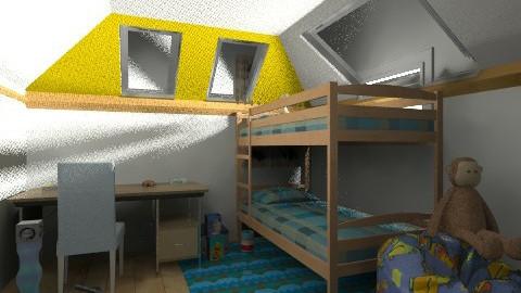 kids room and playroom  - Modern - Bedroom - by sydneysky